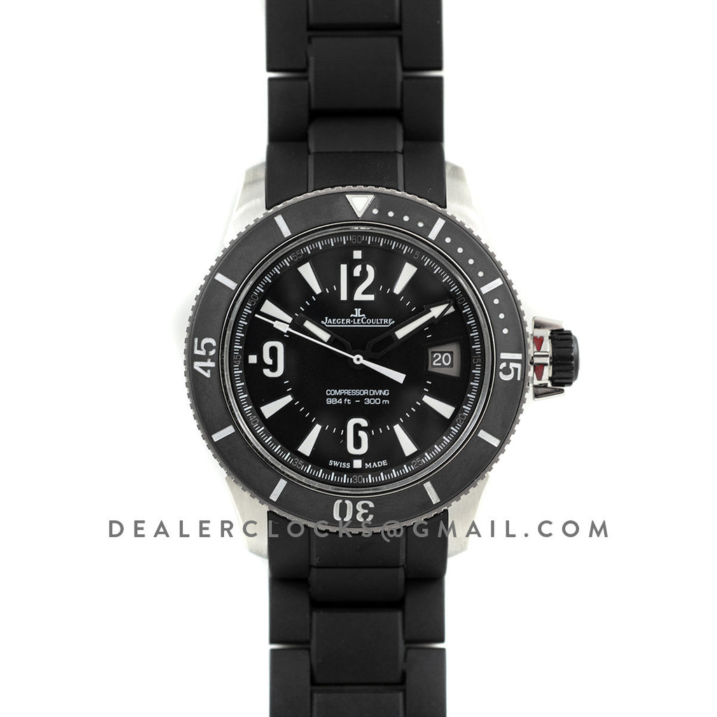 aed1e4a4112 Jaeger-LeCoultre Master Compressor Diving Automatic Navy Seals ...