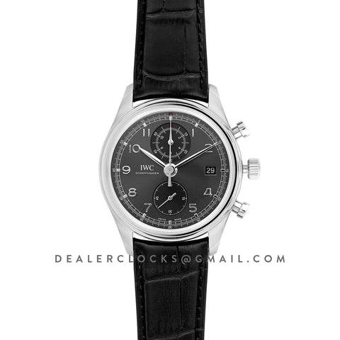 Portuguese Automatic Chronograph Grey Dial in Steel