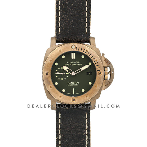 PAM382 Luminor Submersible 1950 3 Days Automatic Bronzo