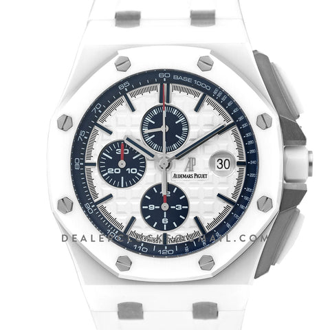 Royal Oak Offshore Novelty 44mm in White Ceramic 26402CB