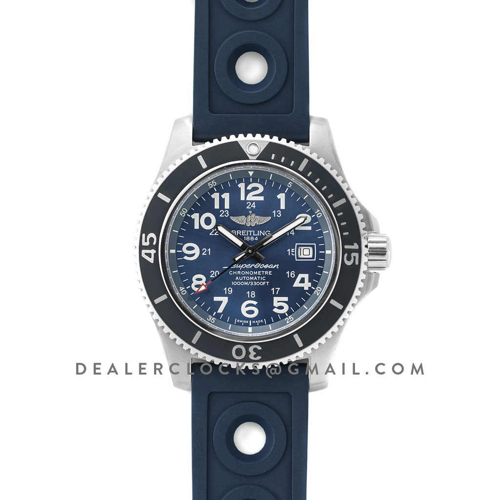 SuperOcean II 44mm Blue Dial