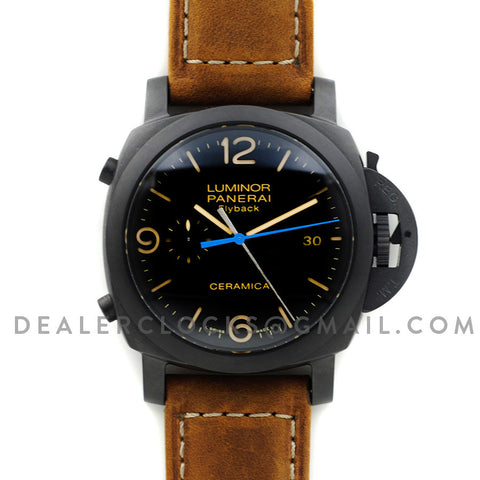PAM580 Luminor 1950 3 Days Chrono Flyback Ceramica