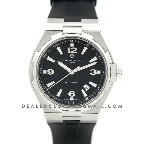 Overseas Automatic Black Dial in Steel
