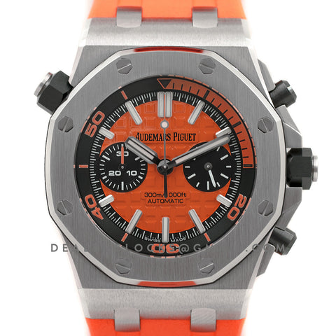Royal Oak Offshore Diver Chronograph in Orange