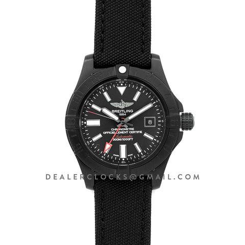 Avenger II GMT Black Dial in PVD