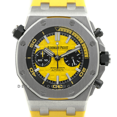 Royal Oak Offshore Diver Chronograph in Yellow