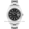Datejust II 116300 Black Dial Stick Markers