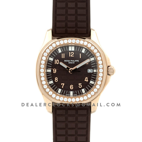 Aquanaut Luce 5068R-001 in Rose Gold