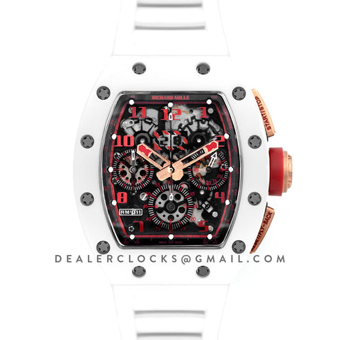 RM 011 Flyback Chronograph White Demon