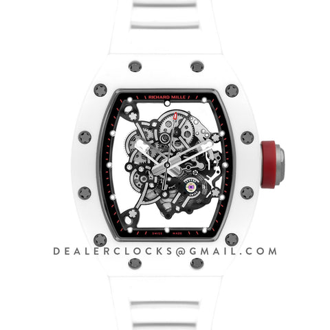 RM 055 Bubba Watson White Ceramic Asia Edition