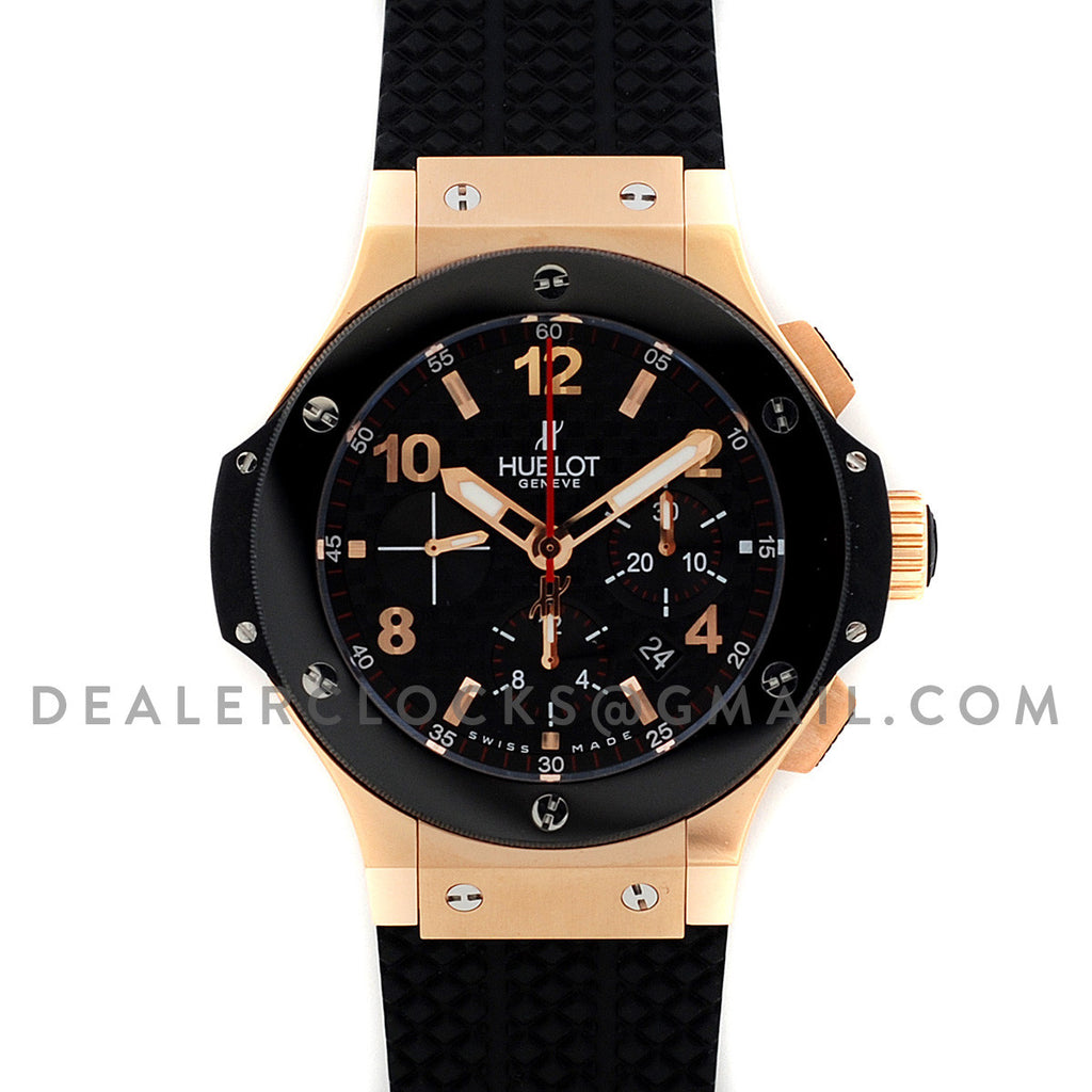 Big Bang Chronograph Carbon Dial in Rose Gold