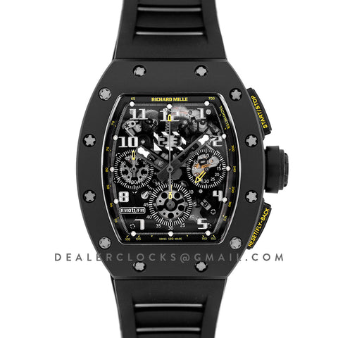 RM 011 Automatic Flyback Chronograph Yellow Flash
