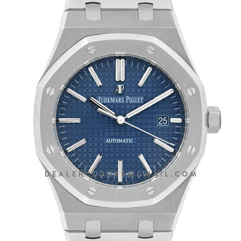 Royal Oak 15400 Steel Blue Dial