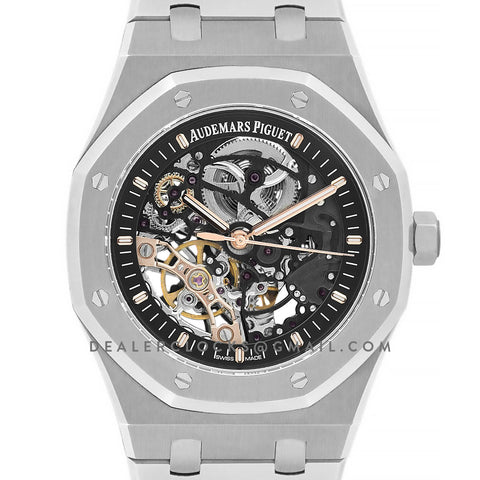 Royal Oak 15407 Double Balance Wheel Openworked in Steel