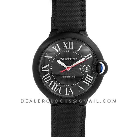 Ballon Bleu de Cartier 42mm DLC Black Dial