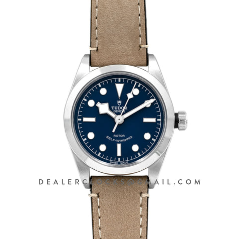 Black Bay 36 Blue Dial on Brown Strap Ref. M79500-0005
