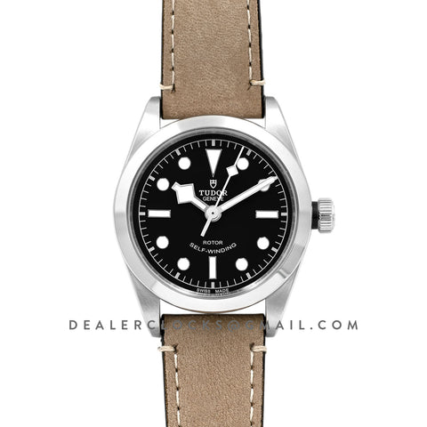 Black Bay 36 Black Dial on Brown Strap Ref. M79500-0008