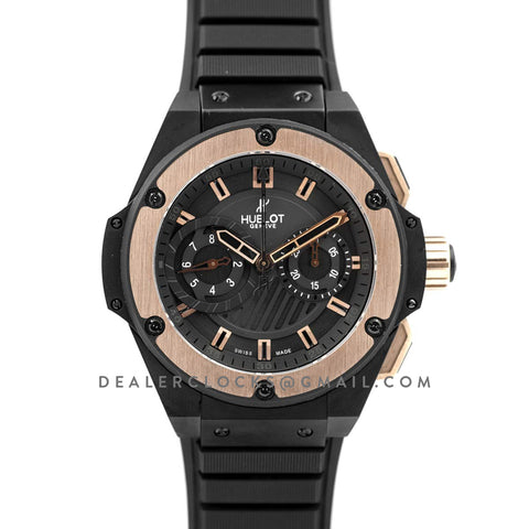 Big Bang King Power Foudroyante Black/Rose Gold