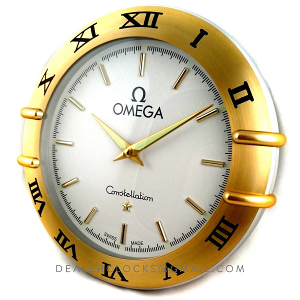 Omega Constellation Wall Clock Dealer Clocks
