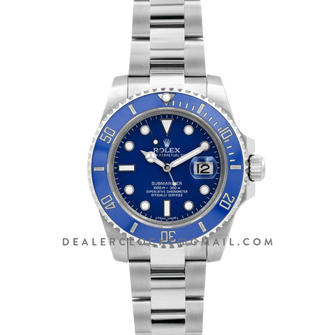 Submariner 116619LB 'Smurf' Blue Ceramic White Gold