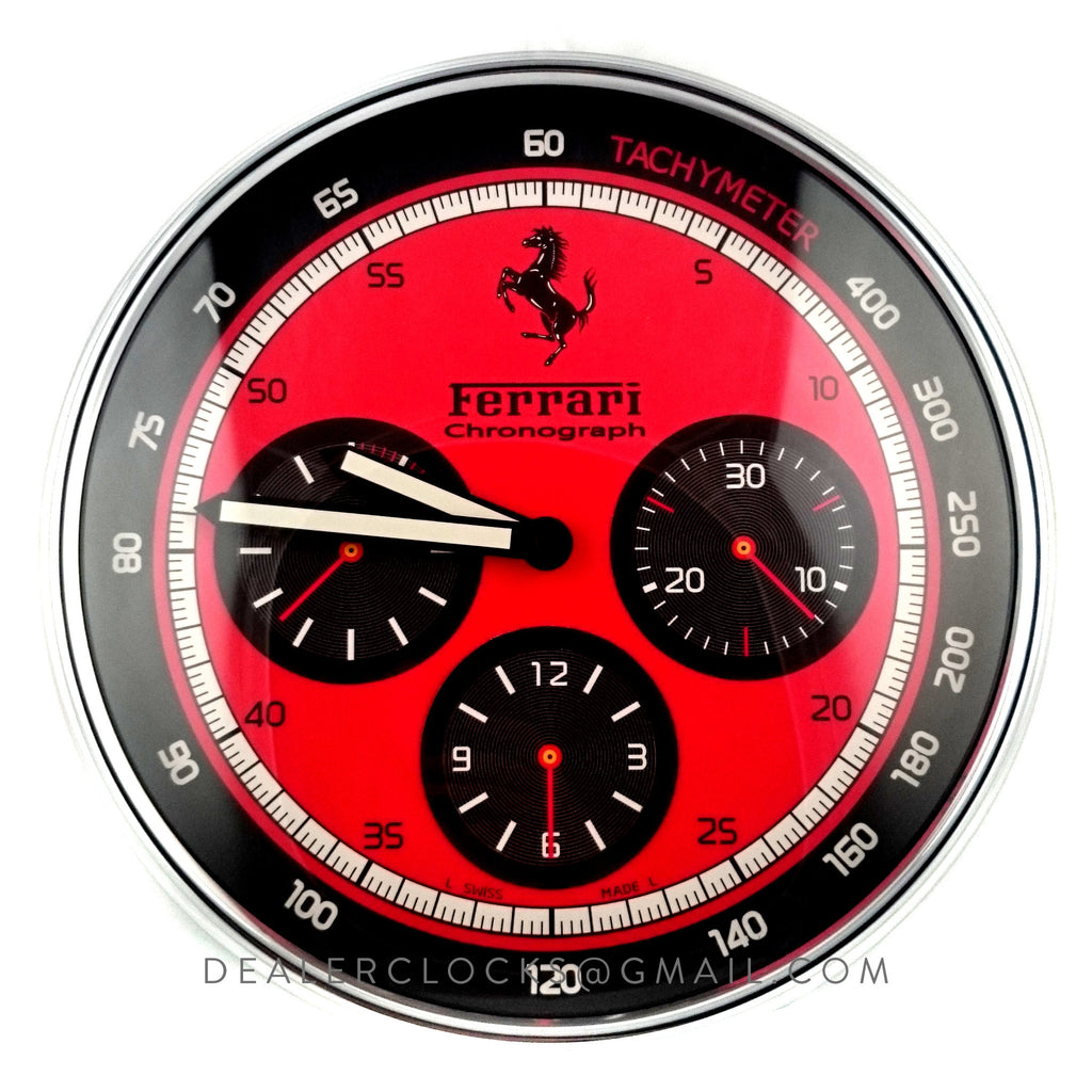 Panerai Wall Clock Scuderia By Panerai Collection Dealer Clocks