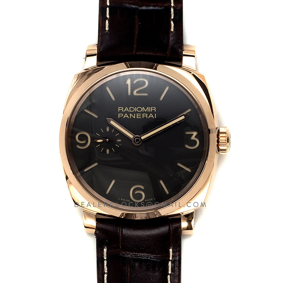 PAM573 Radiomir 1940 3 Days Automatic Oro Rosso