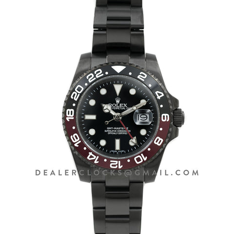 GMT Master II 116710 'Coke' in PVD Black