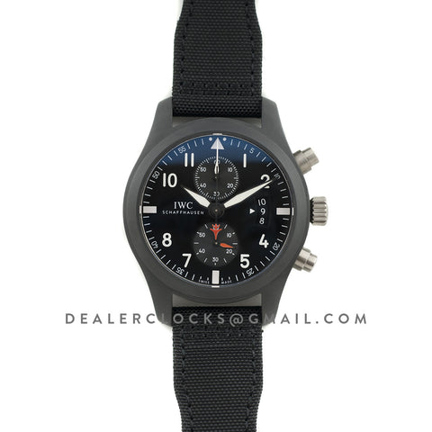Top Gun Pilot's Watch Chronograph IW388001 Ceramic
