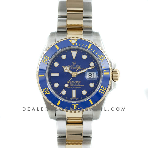 Submariner 116613LB Gold