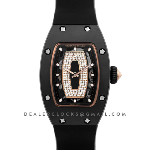 RM 007 Automatic Ladies Black Ceramic