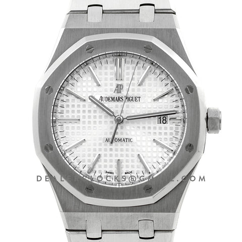Royal Oak 15400 Steel White Dial