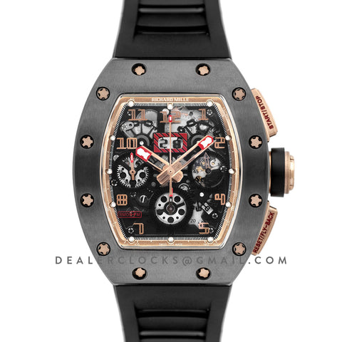 RM 011 Automatic Flyback Chronograph Black Ceramic Limited Edition