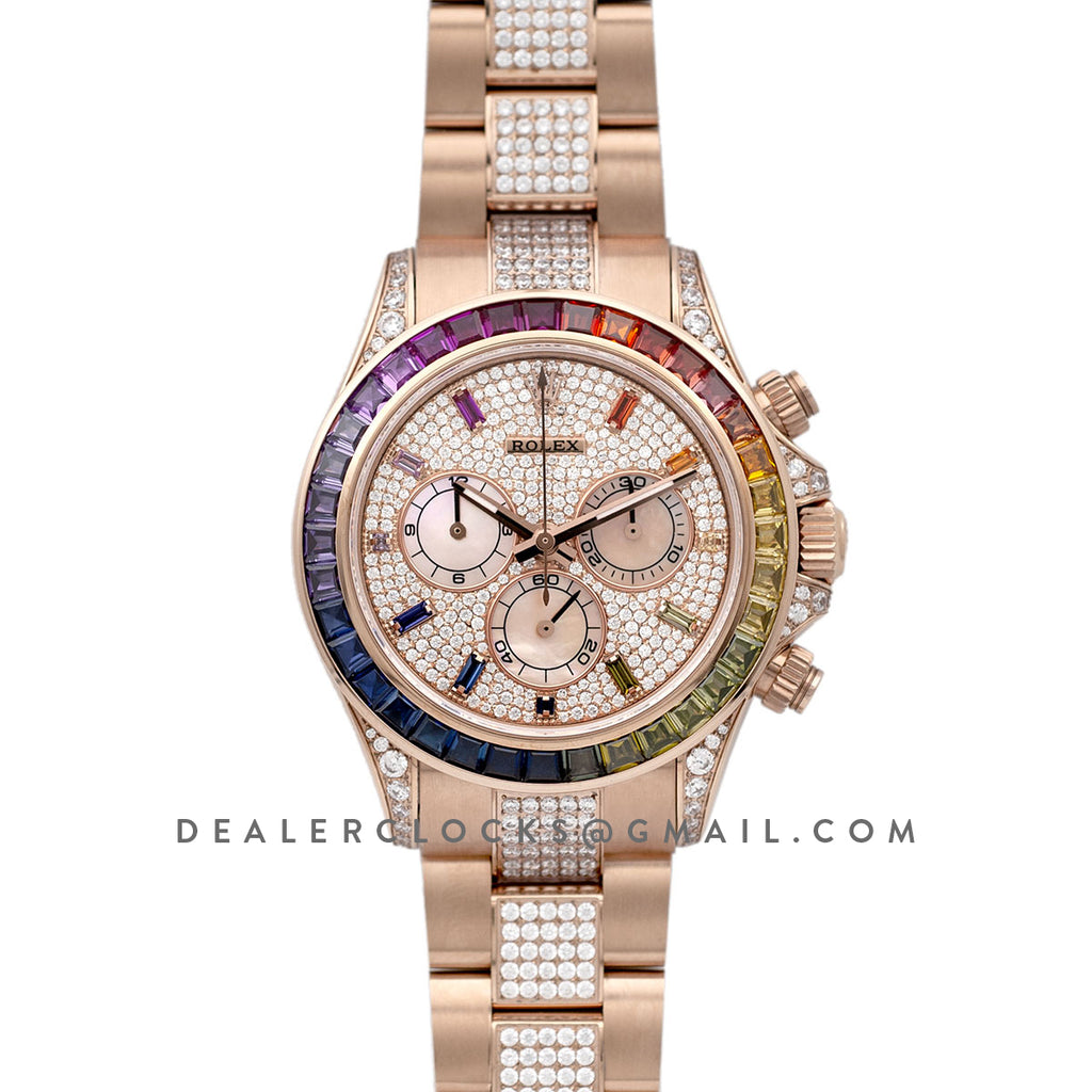 Daytona 116595RBOW-0002 in Everose Gold