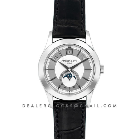 Complications Series Moonphase White Dial on Steel