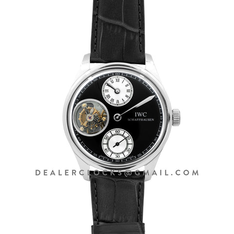 Portuguese Regulator Tourbillon IW544603 Grey Dial in White Gold