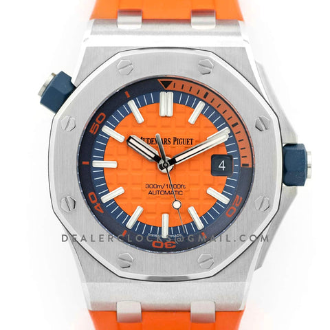 Royal Oak Offshore Diver Steel Orange Dial 15710ST SIHH 2017