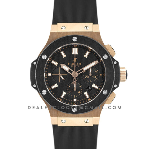 Big Bang Chronograph Carbon Fibre Dial in Rose Gold
