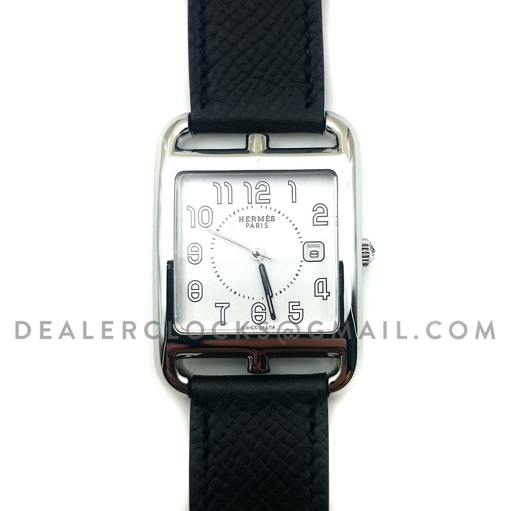 Cape Cod GM Quartz Steel on Black Epsom Leather Strap