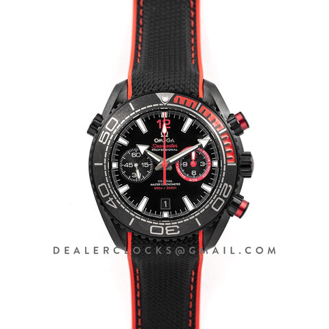 Seamaster Planet Ocean 600M Volvo Ocean Race 'Deep Black Chronograph Limited Edition'
