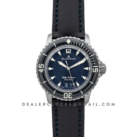 Fifty Fathoms Grande Date Blue Dial