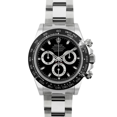 Daytona 116500LN Black Dial in White Gold