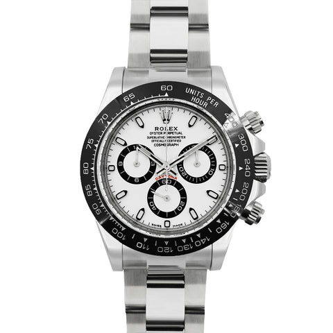 Daytona 116500LN White Dial in White Gold
