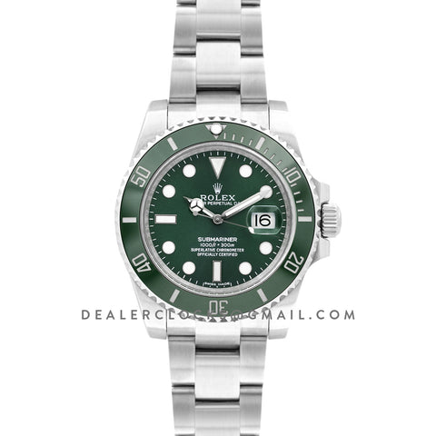 Submariner 116610LV 'Hulk' Green Ceramic