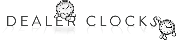 Dealer Clocks logo