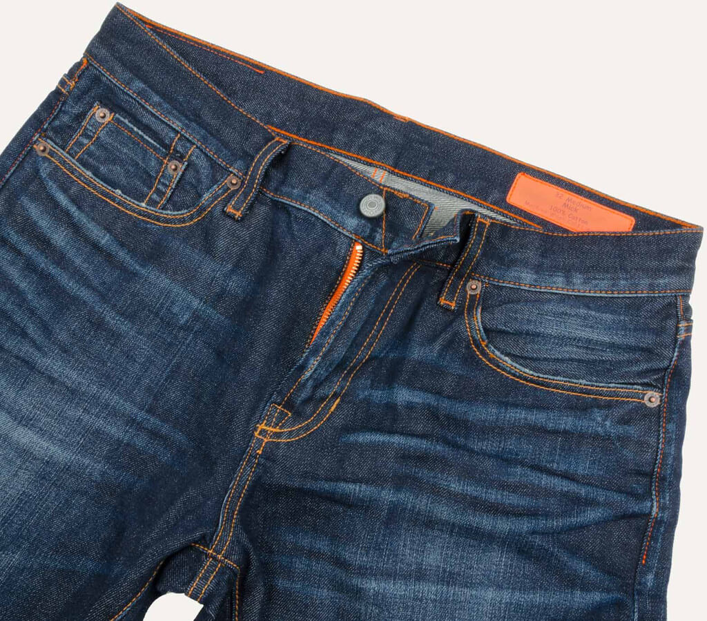 Jean Shop Mick, Dark Wash Selvedge Denim