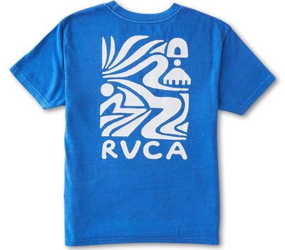 The Straits Tee Tops RVCA Cobalt Blue S