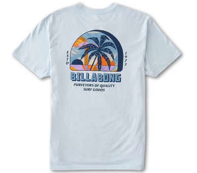 Palmas Tee - Coastal Blue Tops Billabong Coastal Blue S