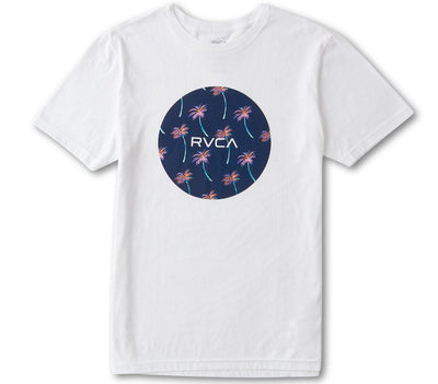 Motors Tee - White Tops RVCA White S