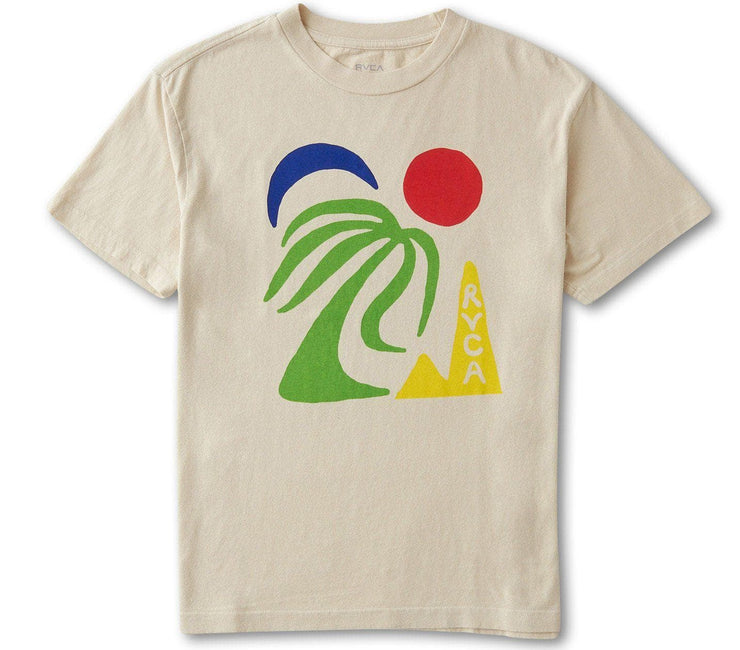 The Oasis Tee Tops RVCA Sand S