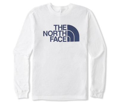 Half Dome Long Sleeve Tee - White Tops The North Face White S
